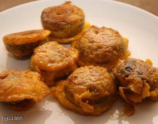Dietetyczne Pieczarki w panierce a'la Pysia