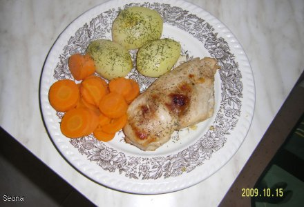 Kurczak z morelą