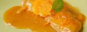Kotleciki z kurczaka w sosie pomarańczowym