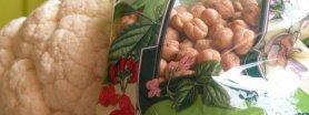 kalafior smażony z cieciorką po indyjsku;)