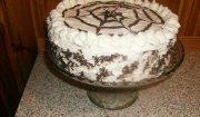 Tort czekoladowy z bita śmietana