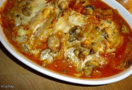 Kotlety w sosie pomidorowo-pieczarkowym