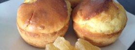 Mufinki ananasowo-rozmarynowe