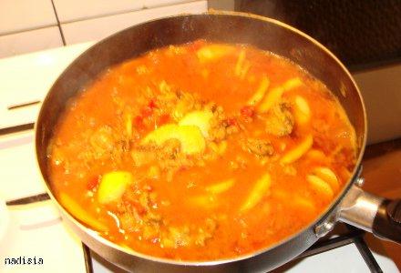 Rozgrzewający i aromatyczny sos z ryżem