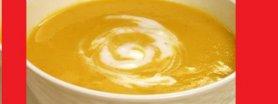 Rozgrzewająca zupa bananowa