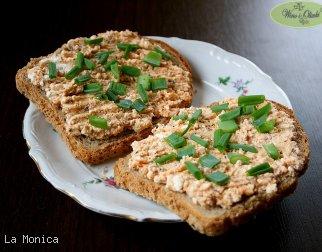 Pasta serowo-rybna