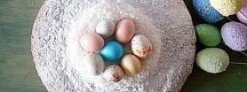 Truskawka i kokos w Wielkanocnym cieście