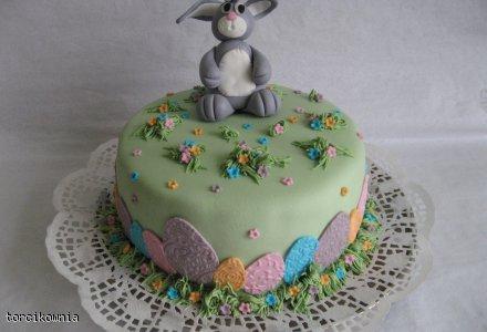 Wielkanocny torcik