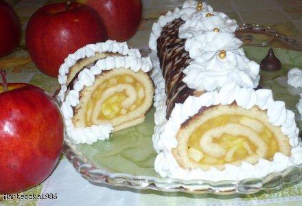 Rolada jabłkowa