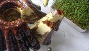 Babka marmurkowa z płatkami migdałowymi