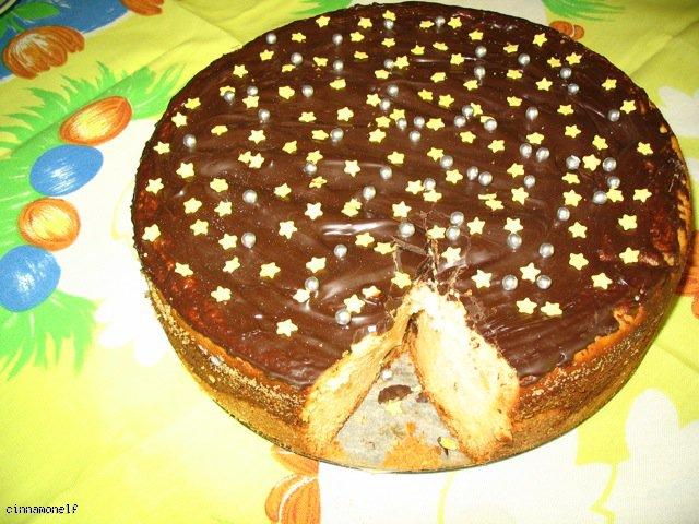 Sernik wielkanocny z czekoladą