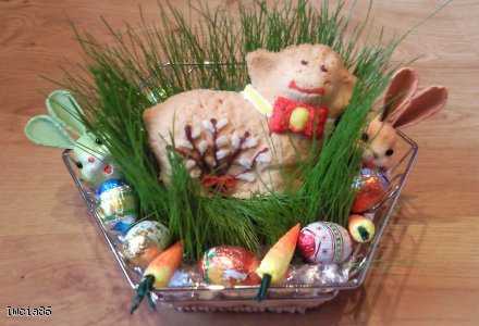 Baranek Wielkanocny z baziami