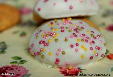 Kolorowe ciasteczka cytrynowe