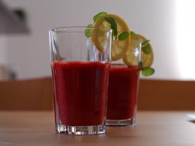 napój truskawkowy