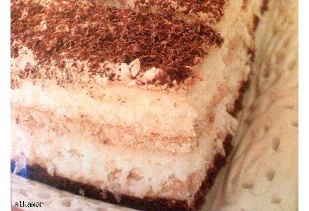 ciasto kawowo-kokosowe