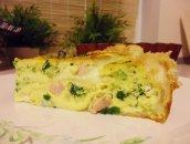 Tarta brokułowa na cieście francuskim
