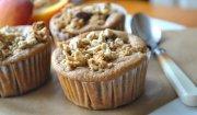 Śniadaniowe muffinki z brzoskwiniami - przepis