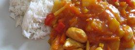 Kurczak w sosie slodko - kwaśnym