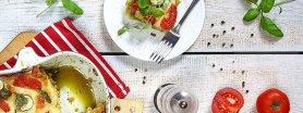 Ziołowa lasagne z mascarpone i warzywami