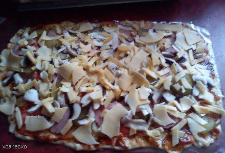 Pizza alla Anetino :)