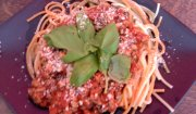 Spaghetti z cynamonem.