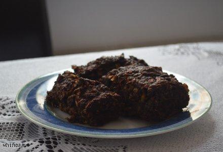 Czekoladowe ciasto cukiniowe bez tłuszczu