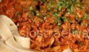 Spaghetti tuna tagliatelle