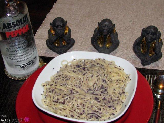 Linguettine con Vodka e Caviale - czyli z Wódką i Kawiorem