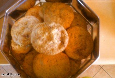 ciasteczka czekoladowo-orzechowe z nutką pomarańczy