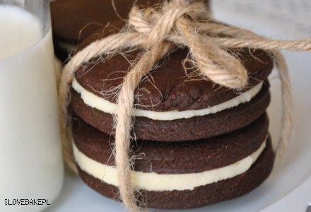 Domowe ciastka oreo - przepis