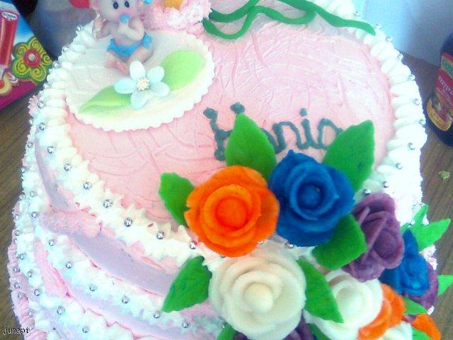 tort śmietanowo-owocowy na roczek