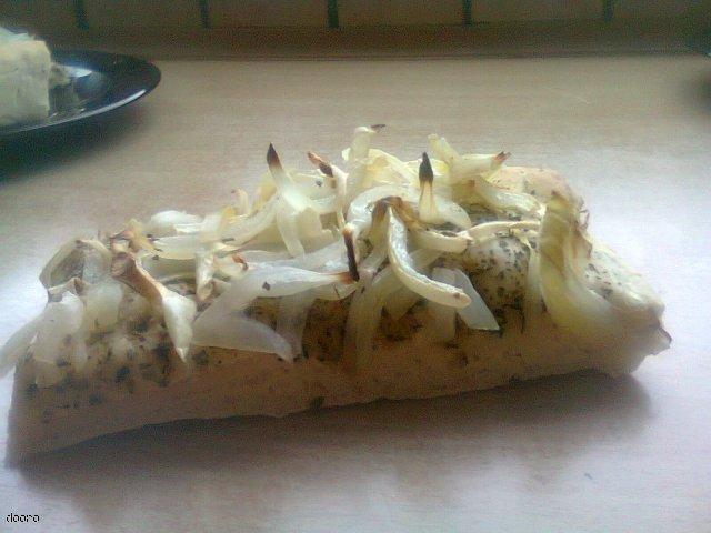 Fociaccia z cebulą