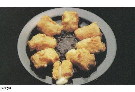 Wyśmienity smażony camembert