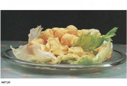 Sałatka z kurczaka na zimno
