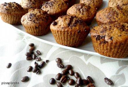 Kawowe muffinki z chałwą