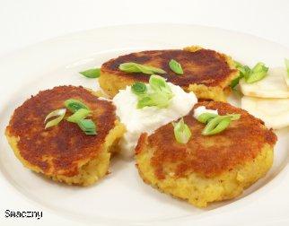 Racuchy ziemniaczano-serowe
