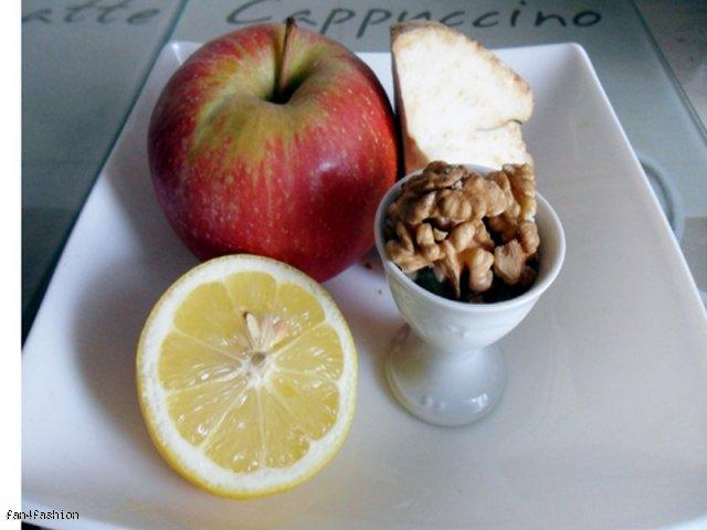 Surówka z selera i jabłka
