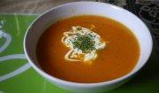 Zupa krem z marchwi z pomarańczami i imbirem