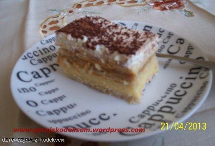 Ciasto 3bit bez pieczenia z krakersami