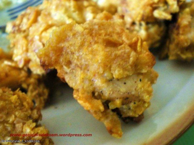 Chrupiące nuggetsy z kurczaka