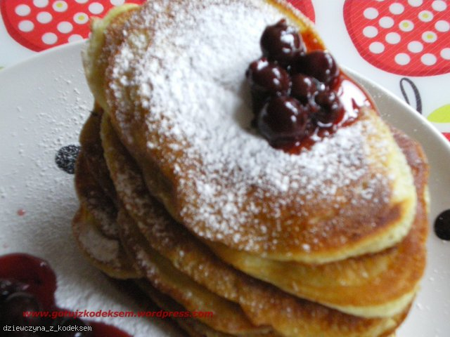 Amerykańskie pancakesy