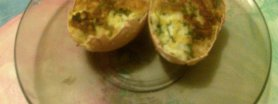 Jajka zasmażane w skorupce