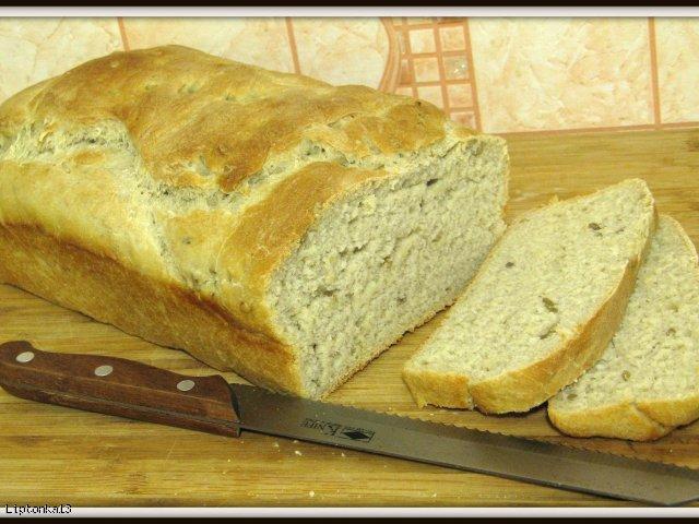 Domowy chleb,żytnio-pszenny z słonecznikiem
