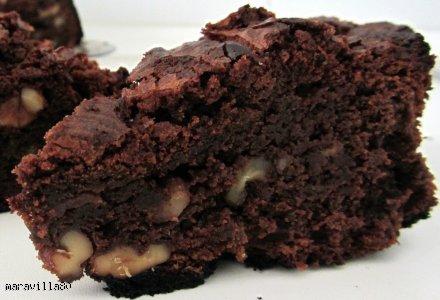 Pyszny Brownie pieczony w mikrofali w 10min!