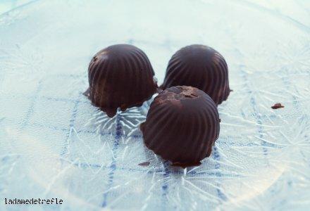 Proste czekoladki a'la ptasie mleczko