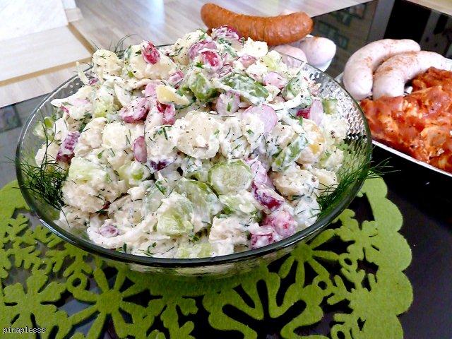 Salatka Ziemniaczana Do Grilla Przepis Kulinaria Wizaz Pl