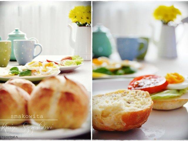 Szybkie bułeczki śniadaniowe