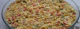 Sałatka z zupek chińskich pikantnych