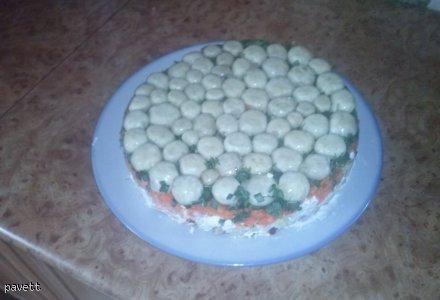 Sałatkowy tort