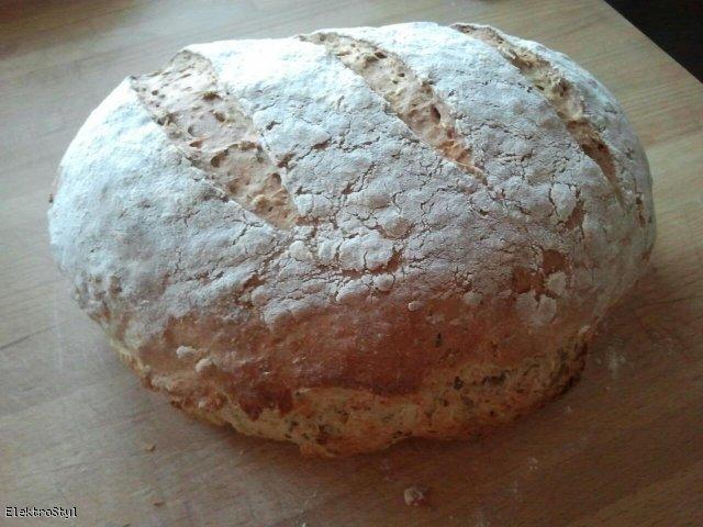 Chleb pszenno-orkiszowy na zakwasie